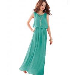 Women Latest Style Bohemian Retro Lotus Leaf Elegant Long Dress WC-84GN